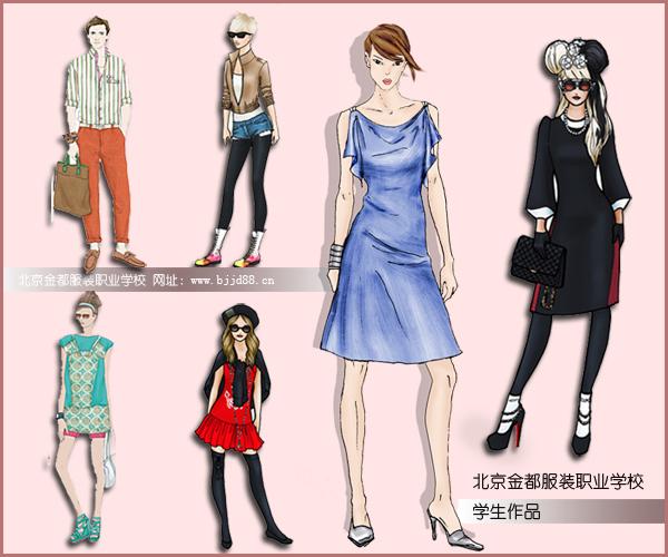 服装服饰设计一年的学费多少图片