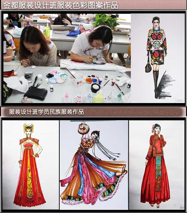 一:高级服装设计师班(手绘+电脑)
